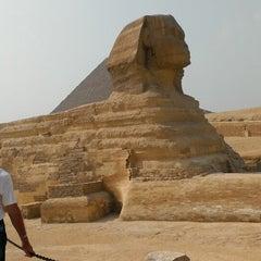 Photo taken at Great Sphinx of Giza | تمثال أبو الهول by Vladimir D. on 5/3/2013