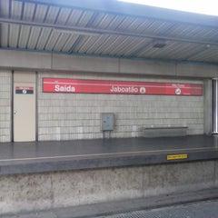 Photo taken at Estação Jaboatão (CBTU/Metrorec) by Sandra M. on 2/2/2015