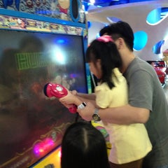 Photo taken at Timezone by Veronica K. on 3/9/2013