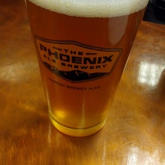 Photo taken at The Phoenix Ale Brewery by olllllo on 5/21/2013