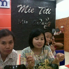 Photo taken at Mie Titi by Chintya N. on 1/5/2014