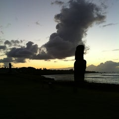 Photo taken at Isla de Pascua | Rapa Nui by Derek on 1/1/2013