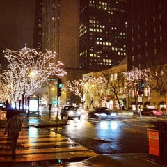 Photo taken at The Magnificent Mile by Pedro A. on 1/31/2013