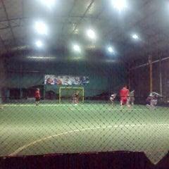 Photo taken at Futsal Galuh Mas by Yussy U. on 5/7/2013