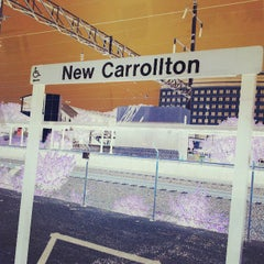 Photo taken at New Carrollton Metro Station by MYKAL™ on 6/1/2013