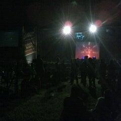 Photo taken at Stadion Klabat by Candy L. on 5/14/2013