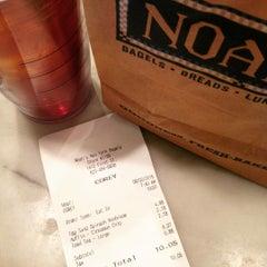 Photo taken at Noah's New York Bagels by Corey N. on 8/2/2015