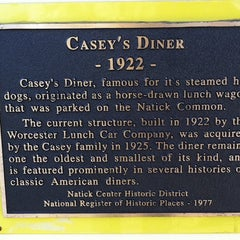 Photo taken at Casey's Diner by Susan F. on 11/17/2012