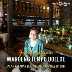 Photo taken at Waroeng Pecel Solo by Firdani L. on 5/29/2014