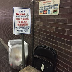 Photo taken at EWR Airport Express Bus by Bradley M. on 4/8/2015