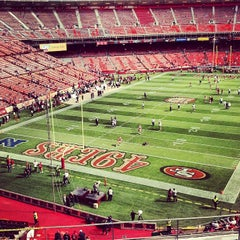 Photo taken at Candlestick Park by Al M. on 8/25/2013