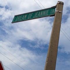 Photo taken at I Dream of Jeannie Lane by Marissa S. on 3/24/2014