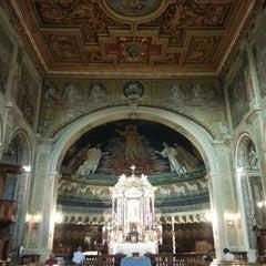 Photo taken at Basilica S.Cosma e Damiano by Atıf D. on 6/20/2014
