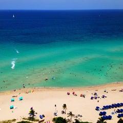 Photo taken at Trump International Beach Resort by Beco B. on 7/25/2013