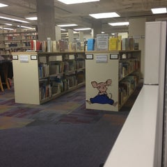 Photo taken at McIntyre Library by ShariAnn K. on 12/4/2013