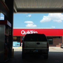 Photo taken at QuikTrip by Christopher P. on 7/3/2013