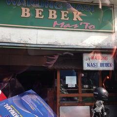 Photo taken at Warung bebek mas'To by Erick A. on 4/12/2016