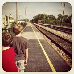 Photo taken at Metra - Forest Glen by Stephenie H. on 9/1/2013