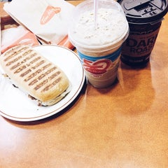Photo taken at Tim Hortons by Na A. on 10/19/2014