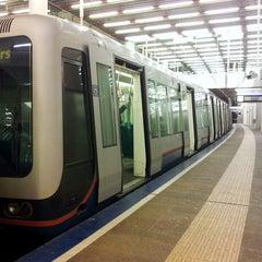 Photo taken at Metrostation Rotterdam Centraal by Willem v. on 2/26/2013