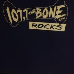 Photo taken at 107.7 The Bone by Jen C. on 3/26/2014