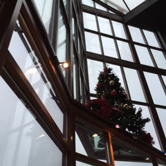 Photo taken at Granville Island Hotel by Peter K. on 12/5/2014