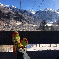 Photo taken at Telluride Gondola Station by Basit M. on 3/12/2014