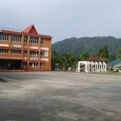 Photo taken at MRSM Kuantan by Husna M. on 1/26/2014
