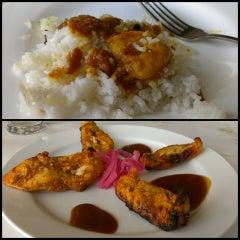 Photo taken at Ajanta Restaurant by Ali T. on 5/15/2013