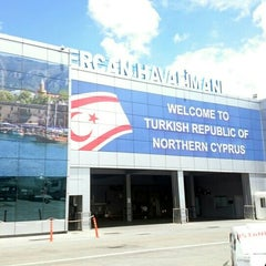 Photo taken at Ercan Havalimanı | Ercan Airport by Betül S. on 5/14/2015