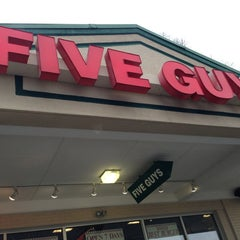Photo taken at Five Guys by Keith on 12/24/2012