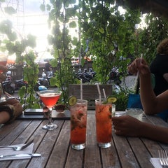 Photo taken at Dejavu Club & Lounge by Ariane M. on 9/6/2014