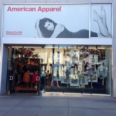 Photo taken at American Apparel by Grigory S. on 1/16/2014