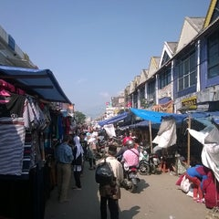 Photo taken at Pasar Anyar by Suwarno C. on 7/20/2014