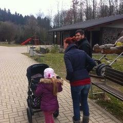 Photo taken at Lesopark Chrasť by Dominik H. on 3/3/2014