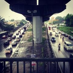 Photo taken at KTM Line - Kepong Sentral Station (KA07) by Jason R. on 11/5/2012