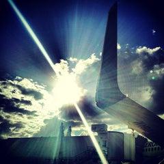 Photo taken at Aeropuerto Internacional de Mérida (MID) by Carlos Yasser C. on 12/19/2012