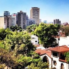Photo taken at Av. Campos Elíseos by Cintli L. on 2/25/2013