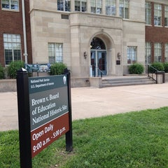 Photo taken at Brown vs. Board of Education National Historic Site by C.Y. L. on 5/24/2013