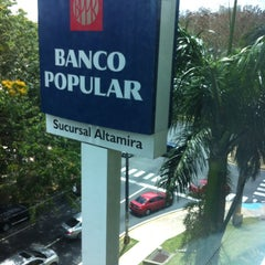 Photo taken at Banco Popular, Altamira Center by vlad m. on 4/12/2014