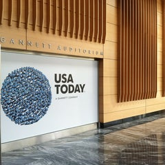 Photo taken at USA TODAY by Barbara D. on 11/6/2012