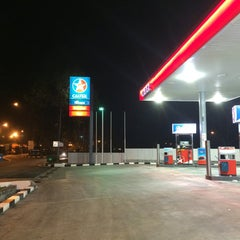 Photo taken at Caltex by Azizul A. on 4/3/2014