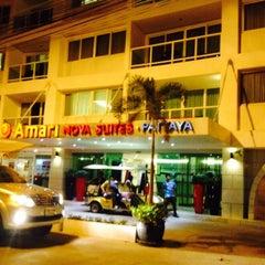 Photo taken at Amari Nova Suites Pattaya by Nakendra D. on 4/17/2015