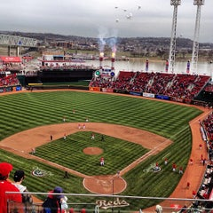 Photo taken at Great American Ball Park by Zack H. on 4/4/2013