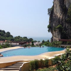 Photo taken at Railay Phutawan Resort by Daria K. on 4/15/2014