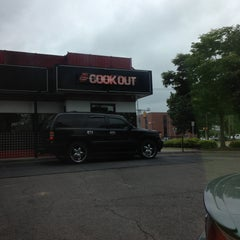 Photo taken at Cook Out by Cheri C. on 5/2/2013