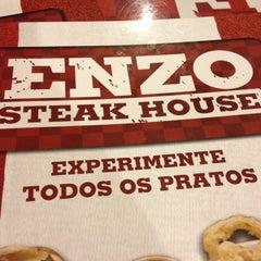 Photo taken at Enzo SteakHouse by Thiago F. on 4/14/2013