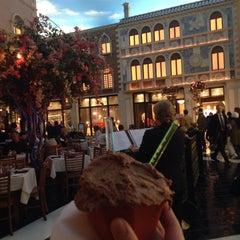 Photo taken at Tintoretto Bakery (Venetian Hotel) by Erika S. on 12/27/2015