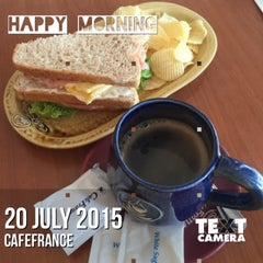 Photo taken at CafeFrance by Joan M. on 7/19/2015