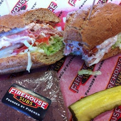 Photo taken at Firehouse Subs by Mike on 3/4/2013
